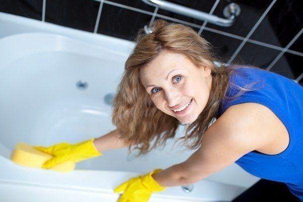 Как просто и быстро очистить ванну. Нетоксичный и эффективный способ.