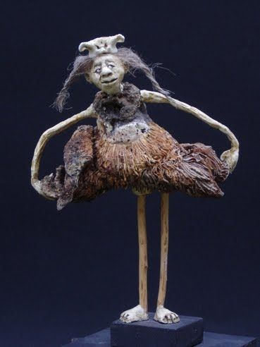 Mixed Media Sculpture , Artist Study with thanks to Sculpture Artist Sabrina Gruss,   Resources for CAPI::: Create Art Portfolio Ideas at milliande.com, Art School Portfolio Work , sculpture, Bones, Mixed Media, Figurative, Animals