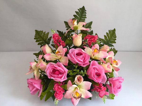 Les fleurs artificielles de deuil | Univers-Obseques