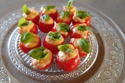 Fetacreme mit Paprika und Kräutern
