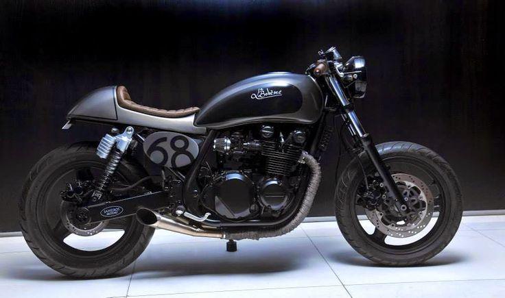 pinterest.com/fra411 #caferacer - La Boheme Kawasaki Zephyr 750 ~ Return of the Cafe Racers