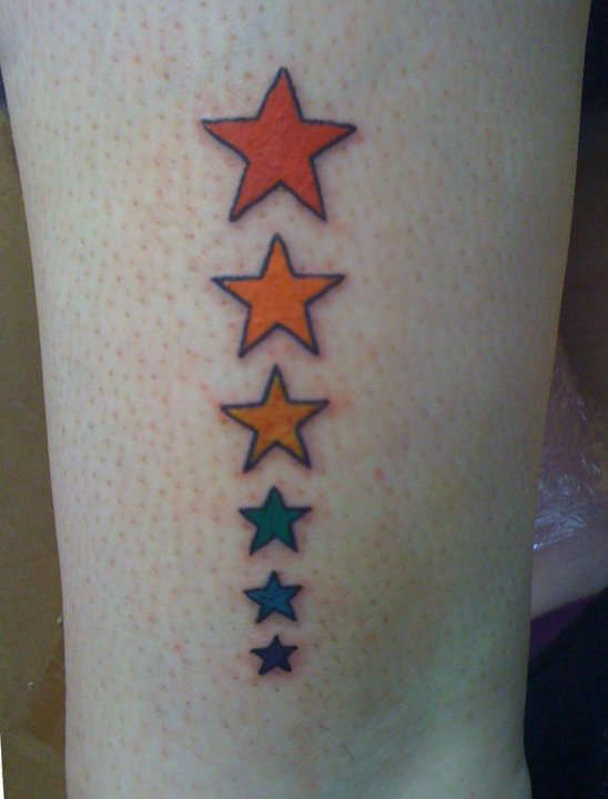 Gay Pride Tattoos  Tattoo Color