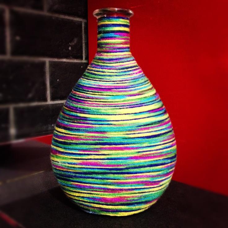 Wool-bottle.