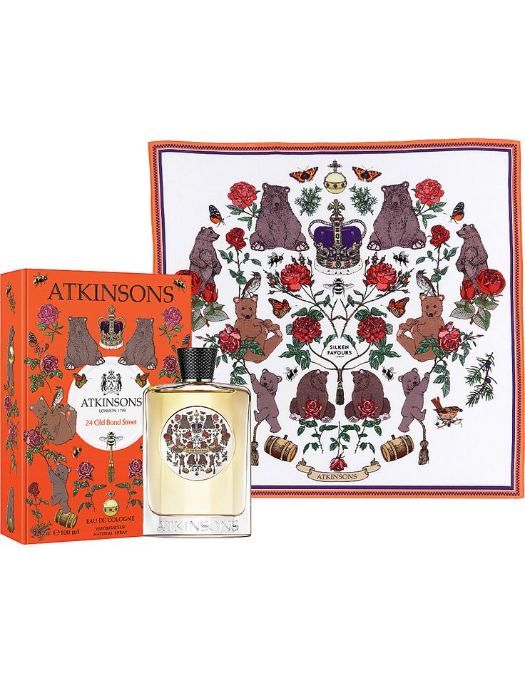 ATKINSONS Atkinsons 24 Old Bond Street Limited Edition Silken Favour