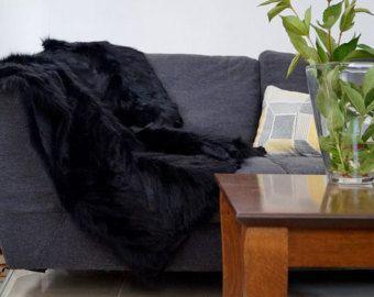 black fox blanket for home