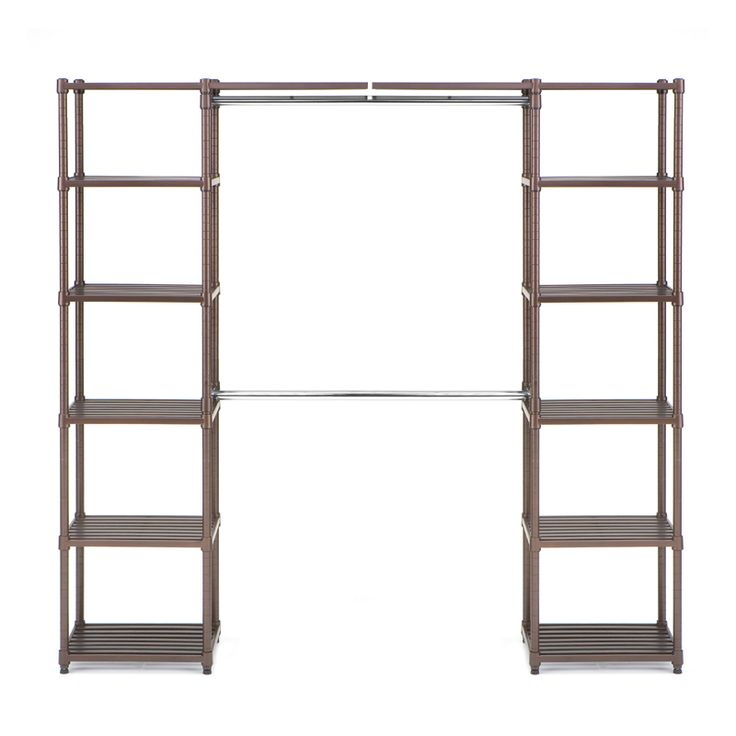 The Closet Organizer (without Side Bars) Measures At 72.75 Inches Tall By 74