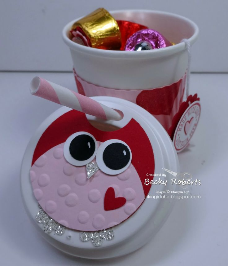 80 best mini altered coffee cups images on pinterest for Coffee crafts