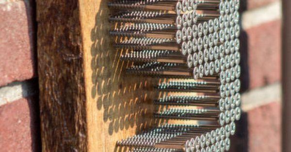 Modern Stainless Steel Home Numbers DIY | Industrial House Numbers, Industrial House and Stainless Steel Screws