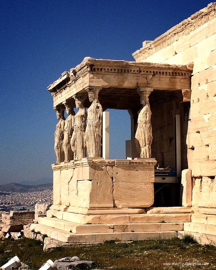 Erechteion temple at Acropolis Athens Greece  #athens #acropolis #greece