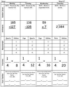 Fourth grade math worksheets - free & printable | K5 Learning