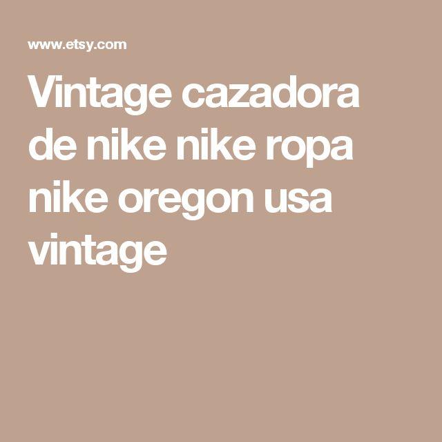 Vintage cazadora de nike nike ropa nike oregon usa vintage