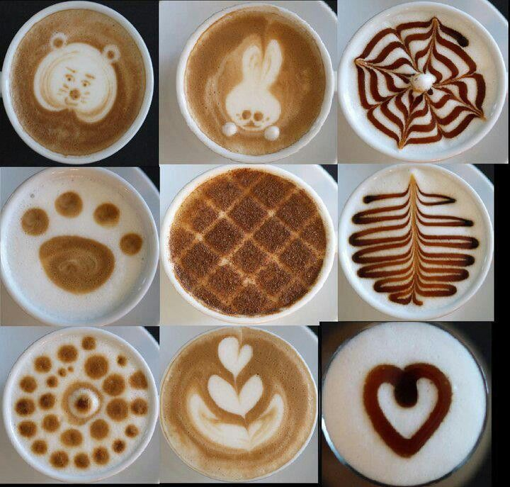 Lovely coffee decorations that gives you this warm, couzy feeling