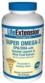 """Super Omega- 3  """"Si tienes que consumir un solo suplemento en tu vida que sea aceite de pescado"""" Dr.Barry Sears ( La Inflamación silenciosa, 2007)"""