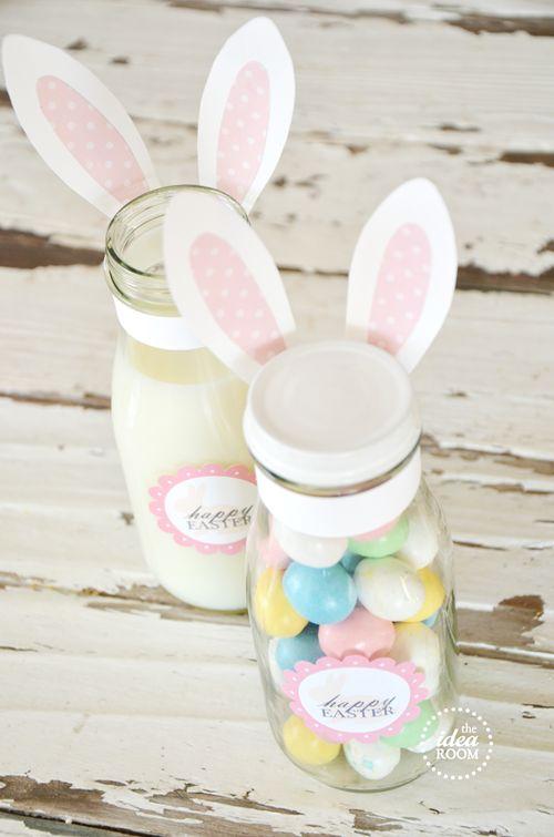 Easter gift idea {free printable}