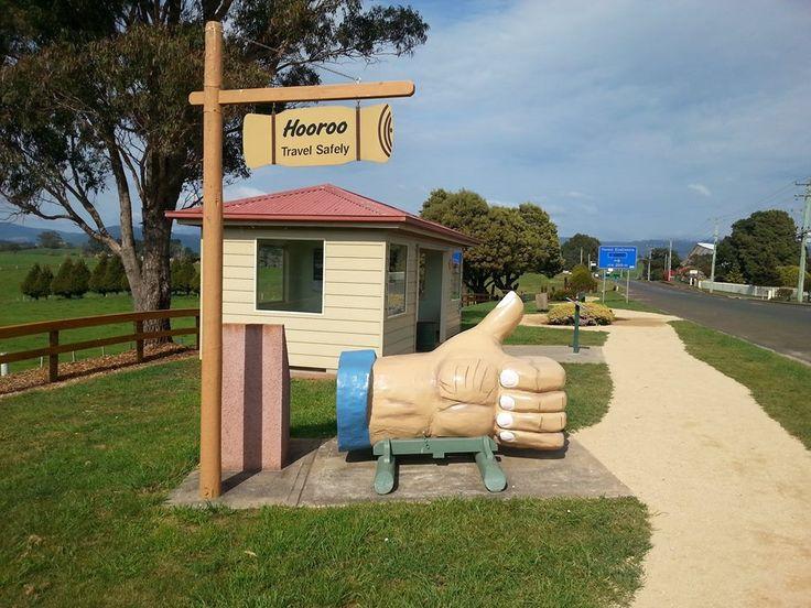 The Big Thumbs Up, Scottsdale, Tasmania