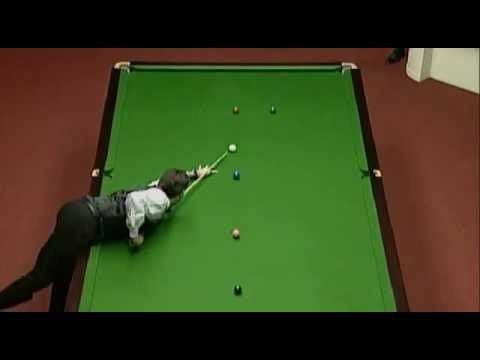 Ronnie O' Sullivan Fastest 147 in History - 5 minutes 20 seconds - 1997 ...