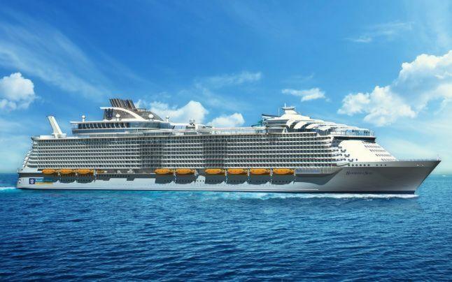Cel mai mare vas de croazieră din lume: Harmony of The Seas se lansează anul viitor şi românii pot face rezervări din toamnă