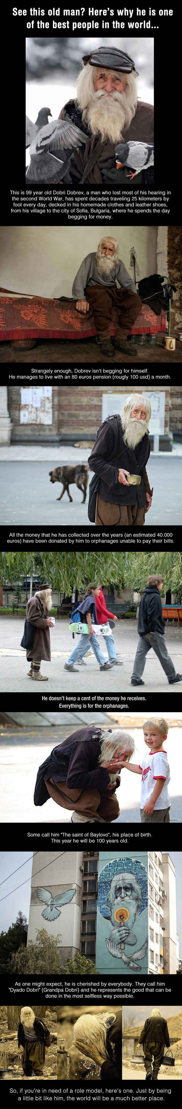 Dobri Dobrev's story: | 33 Pictures That Will Make You Proud To Be A Human Being Again