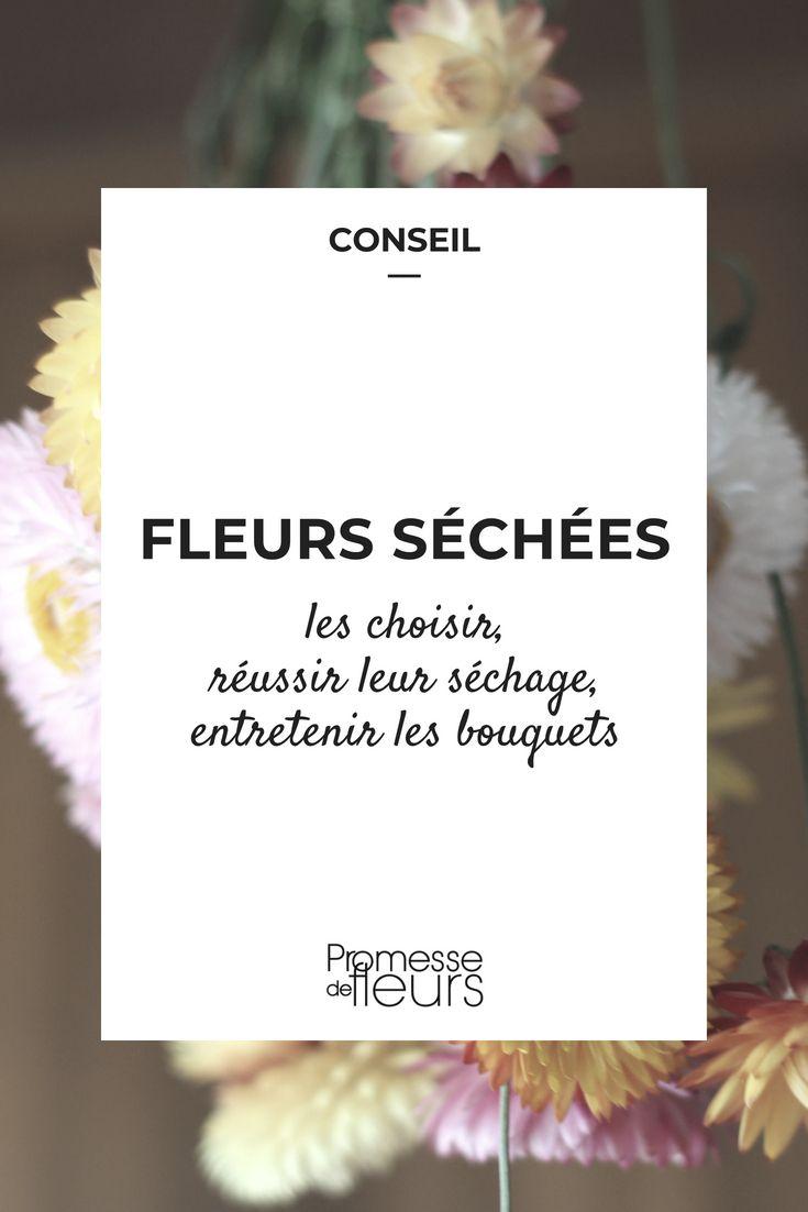 Fleurs séchées : lesquelles choisir, remark les faire sécher et entretenir vos bouquets