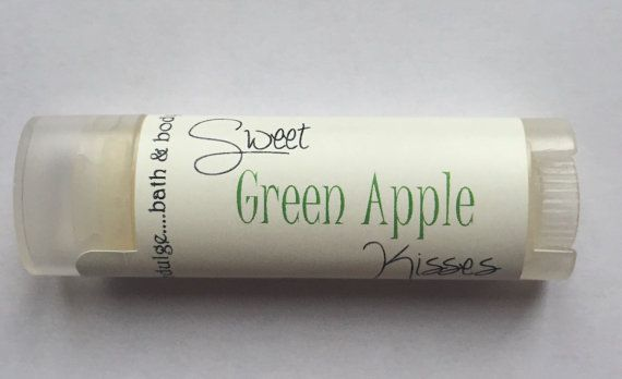 Sweet Kisses Green Apple  Lip Butter 0.15oz by Indulgebathandbody