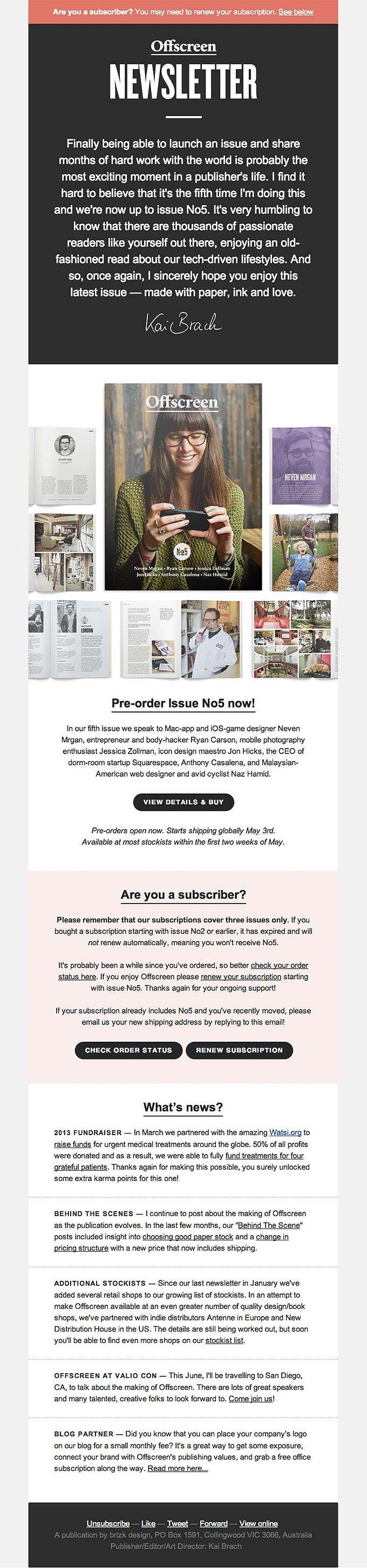 94 best Email Design images on Pinterest | Email newsletter design ...