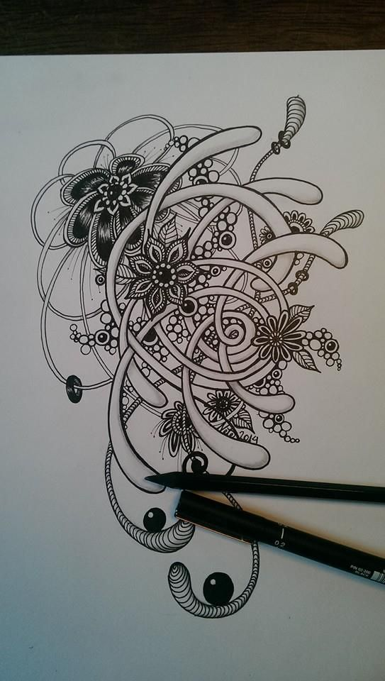.love pencil or charcoal......