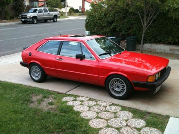 1980 Volkswagen Scirocco Mk.I - yeaaahhhh! My second car and it was nice. I had it in 1990.