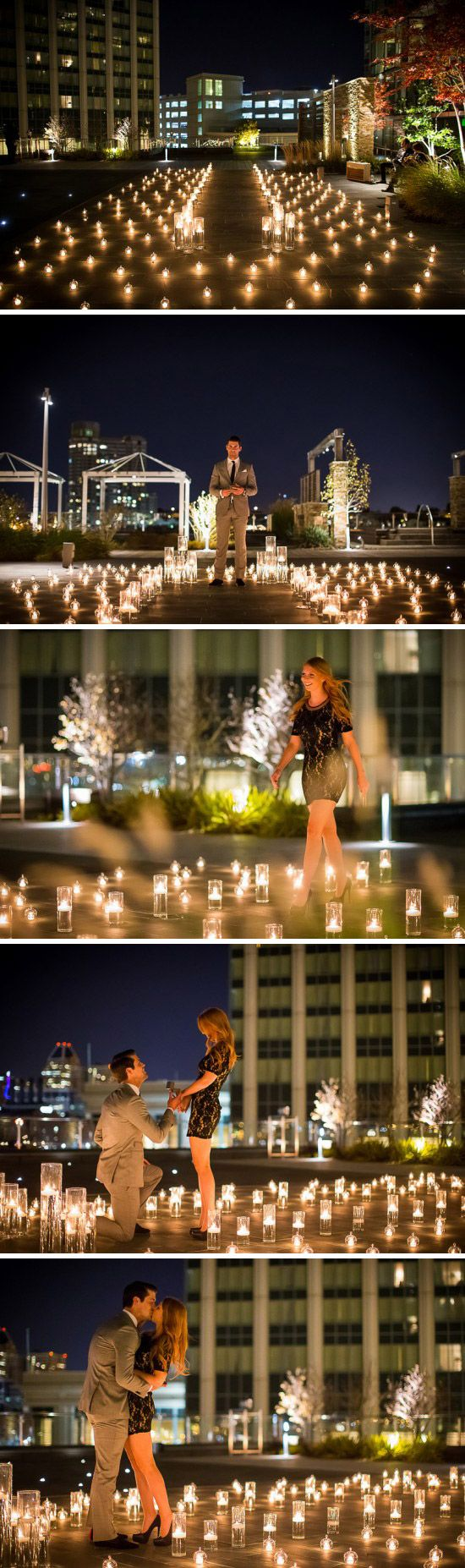 Candlelit Marriage Proposal