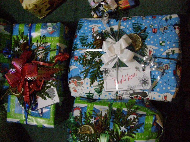 zdobení dárků