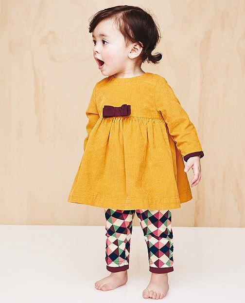 Crazy Cute Cord Dress by Hanna Andersson