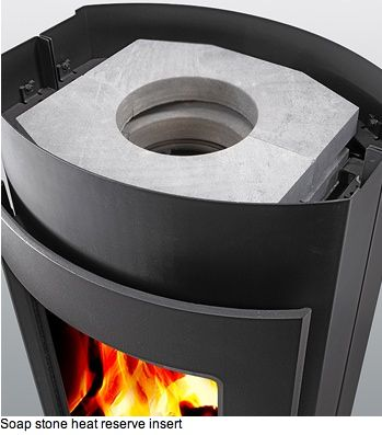 Gorgeous Soapstone Wood Stove Keeps You Warm For 15 Hours : TreeHugger