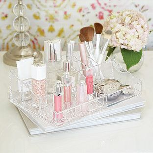 Large Acrylic Makeup Organizer Container Store
