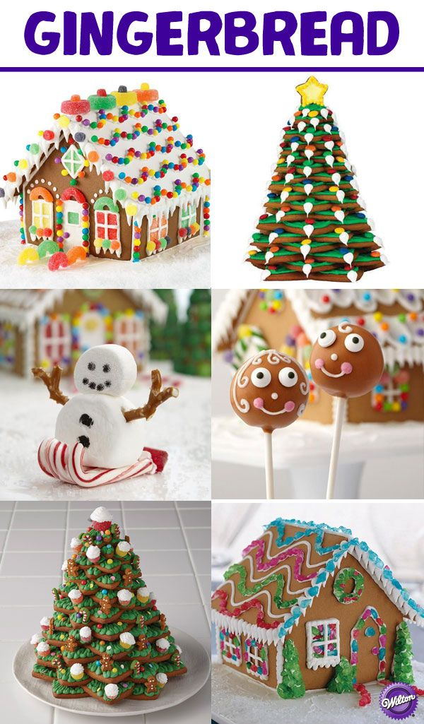 Find inspiration for all of your Christmas Gingerbread decorating projects in our Gingerbread board!