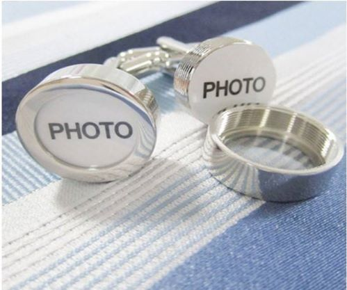 Cuff links:  Photo / Picture by Creations de Splendeur