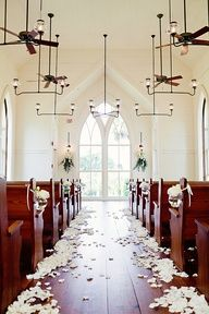 This looks like a really neat itemSouthern weddings - church ceremony