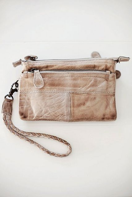 calming neutrals by the style files, via Flickr./ Oh wait! I have one like this! Perfect to fulfill my yearning for clutch bags!
