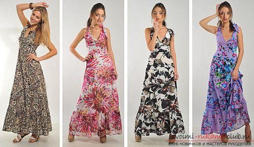 Выкройка и индивидуальный пошив летних платьев и сарафанов