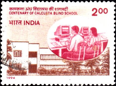 1994 India Centenary of Calcutta Blind School