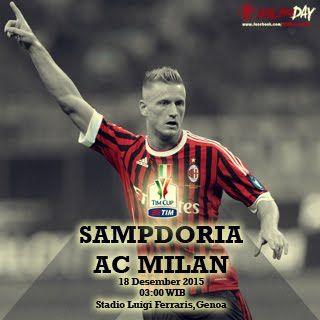 Sampdoria vs Milan TIM cup
