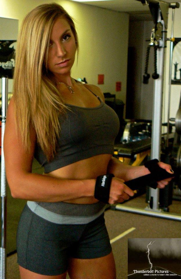 Rebecca Rausch Fitness Model Female Muscle My Fitness Portfolio Fitness Models Fitness
