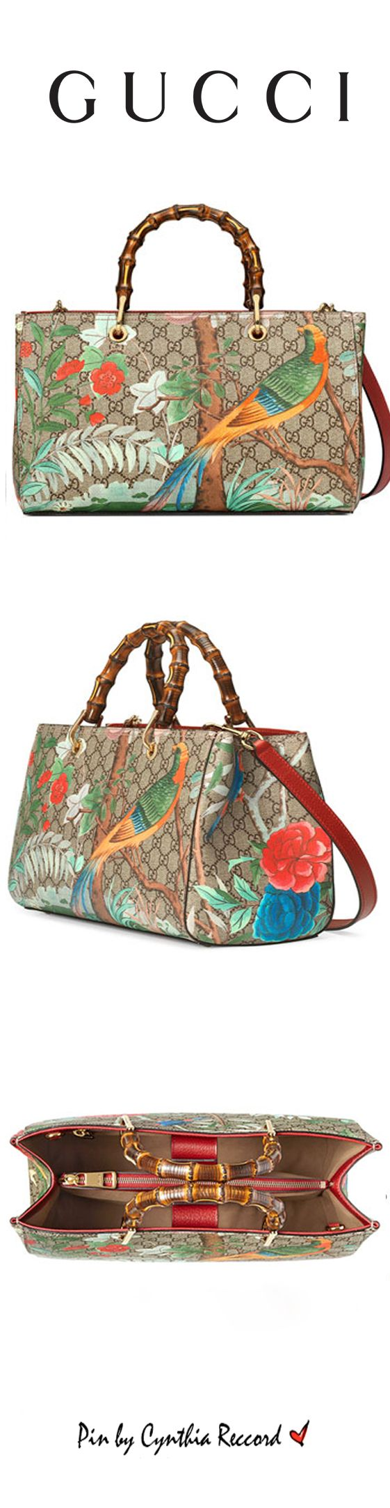 Gucci | Tian Collection | SS 2016 | Bamboo Top Handle | cynthia reccord