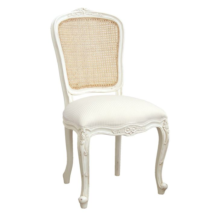 White French Dining Chair