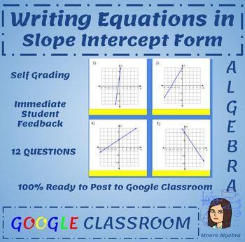 18 Best Algebra 1 Google Classroom Images On Pinterest