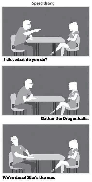 Speed dating dragonball z