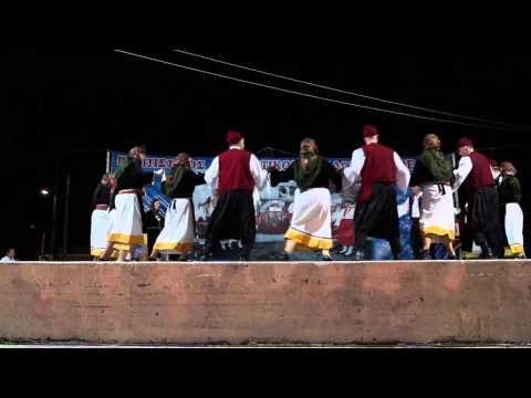 Νησιά - χορός: «πλατανιώτικο νερό» Σάμος - YouTube