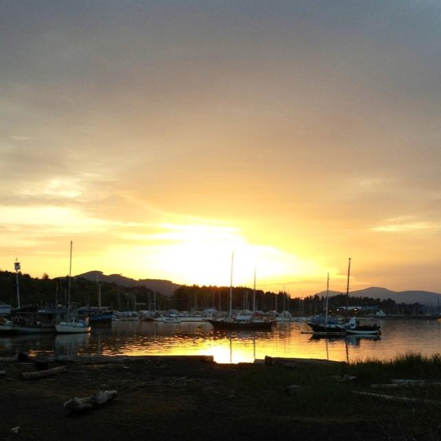 Ladysmith harbour, Vancouver Island BC: Vancouver Island