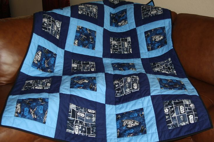 A Star Wars quilt I made!