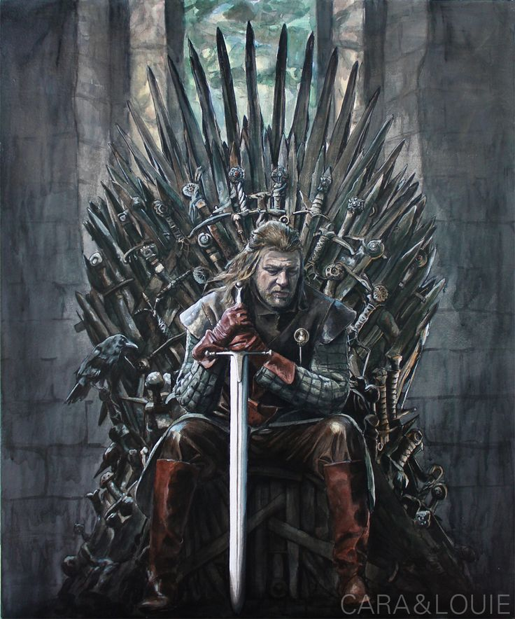 Game Of Thrones Throne Wallpaper: Ned Stark From Game Of Thrones By Thegryllus.deviantart