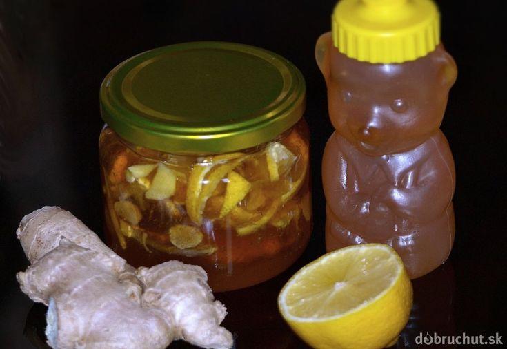 Zázvorový med proti kašľu