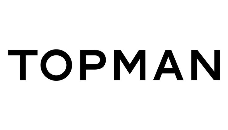 TOPMAN – logotype design for Arcadia Group, 2002.